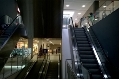 schody ruchome na I piętro